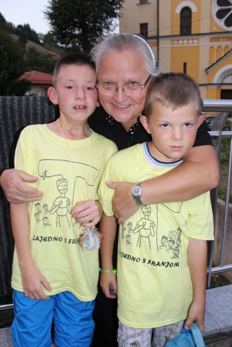 Zajedno s Franjom od početka do kraja